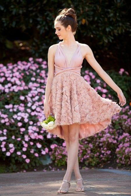 Goddess By Nature Mini Full Chiffon Rosette Skirt