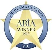 2015 ABIA_Print_Winner_Bridesmaid Gown