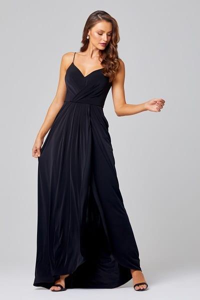 Bridesmaids_Tania_Olsen_Ebonie_TO847_Bridesmaid_Dresses_Melbourne_Black_Front